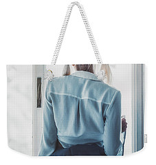 Weekender Tote Bag featuring the photograph 4130 by Traven Milovich