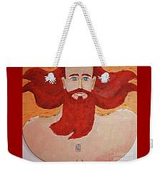 45yr Old Shaped Painting    Weekender Tote Bag