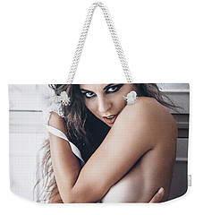 Weekender Tote Bag featuring the photograph 4884 by Traven Milovich