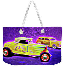 32 Roadster And 49 Woody Weekender Tote Bag