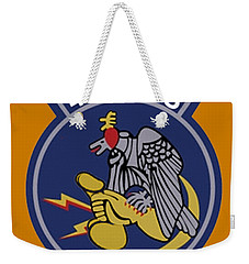 496th Tactical Fighter Squadron  Weekender Tote Bag