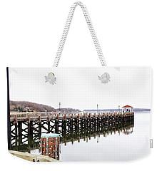 Northport Dock Weekender Tote Bag