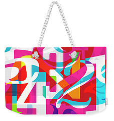54321 Weekender Tote Bag