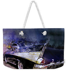 57 Belair Dragon Drivein Date Night Saturday Night Weekender Tote Bag