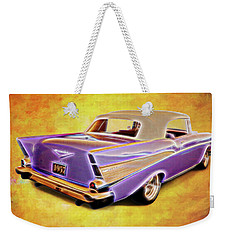 57 Droptop Weekender Tote Bag