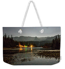 Weekender Tote Bag featuring the photograph Sierra National Park Mountains Near Mammoth Lakes Californit by Alex Grichenko