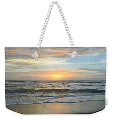 Weekender Tote Bag featuring the photograph 9/17/18 Obx Sunrise  by Barbara Ann Bell