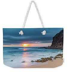 Sunrise Seascape And Cloudy Sky Weekender Tote Bag