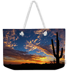 Weekender Tote Bag featuring the photograph A Blanket Of Many Colors by Rick Furmanek