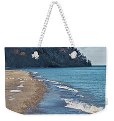 Weekender Tote Bag featuring the photograph A Brisk Morning by Kim Hojnacki
