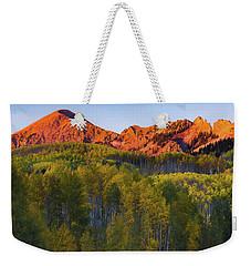 A Colorado Glow Weekender Tote Bag