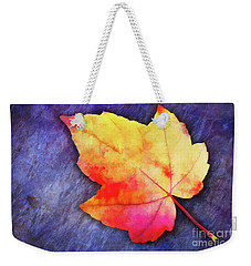 A Colorful Fall Memory Weekender Tote Bag