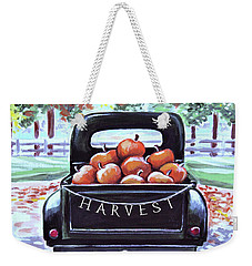 A Day At The Pumpkin Patch Weekender Tote Bag