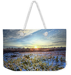 Weekender Tote Bag featuring the photograph A Dream Is A Wish That The Heart Makes by Phil Koch