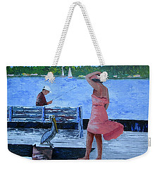 A Little Breeze Weekender Tote Bag