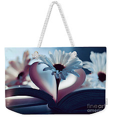A Little Love And Light In Your Heart Weekender Tote Bag