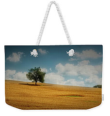 Weekender Tote Bag featuring the photograph A Machias Hillside by Guy Whiteley
