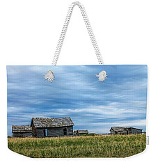 A Sign Of The Times, Run Diown Farm Out Buildings And Barns, Alb Weekender Tote Bag