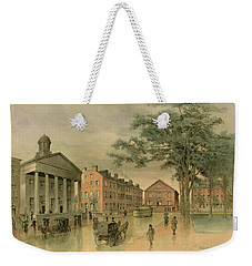 A Southwestern View Of Washington Square Weekender Tote Bag