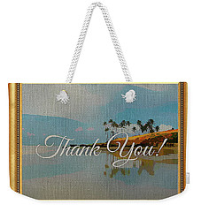 A Thank You Gift Weekender Tote Bag