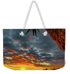A Typical Wednesday Sunset Weekender Tote Bag