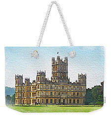 A View Of Highclere Castle 1 Weekender Tote Bag
