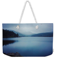 Weekender Tote Bag featuring the photograph A Washed Landscape by Dan Miller