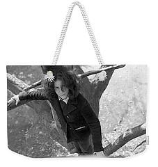 A Woman In A Tree, 1972 Weekender Tote Bag