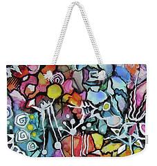 A Zentangle Dance Weekender Tote Bag