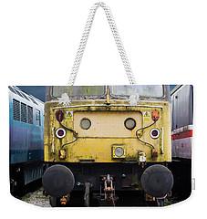 Abandoned Yellow Train Weekender Tote Bag