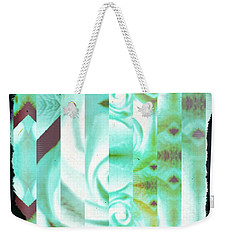 Abstract 089 Weekender Tote Bag