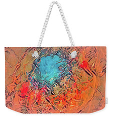 Abstract 49 Weekender Tote Bag