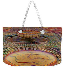 Abstract Architecture Morocco  Weekender Tote Bag