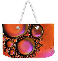 Abstract Droplets Weekender Tote Bag
