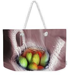 Abstract Fruit Art   103 Weekender Tote Bag