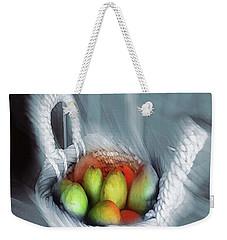 Abstract Fruit Art   104 Weekender Tote Bag