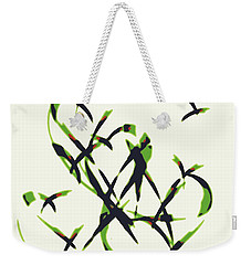 Abstract On Acrylic Weekender Tote Bag