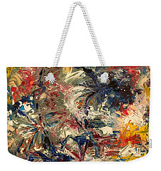 Abstract Puzzle Weekender Tote Bag