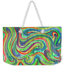 Abstraction In Summer Colors Weekender Tote Bag