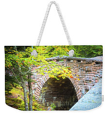 Acadia National Park - Amphitheater Bridge Weekender Tote Bag