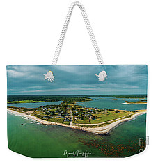 Weekender Tote Bag featuring the photograph Acoaxet Life, Westport by Michael Hughes