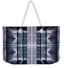 Weekender Tote Bag featuring the digital art Acts by Missy Gainer