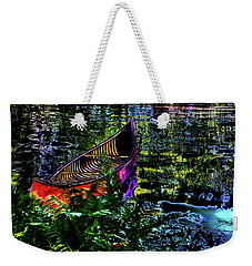 Weekender Tote Bag featuring the photograph Adirondack Guide Boat by David Patterson