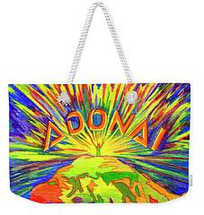 Adonai Weekender Tote Bag