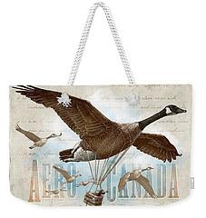 Aero Canada Weekender Tote Bag