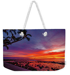 After Sunset Vibrance Weekender Tote Bag