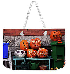 Weekender Tote Bag featuring the photograph After The Party by Tatiana Travelways
