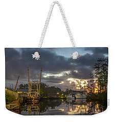 Weekender Tote Bag featuring the photograph After The Storm Sunrise by Cindy Lark Hartman