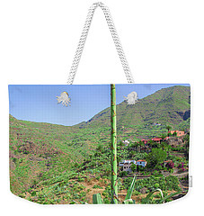 Agave With Flower Spear In Masca Weekender Tote Bag