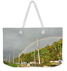 Aguadilla Rainbow Weekender Tote Bag